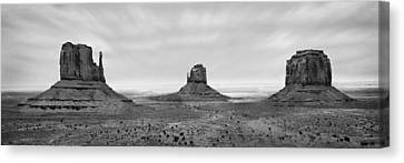 Monument Valley Canvas Print by Mike McGlothlen