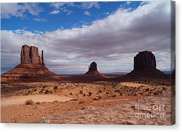 Monument Valley Canvas Print - Monument Valley National Park by Timea Mazug