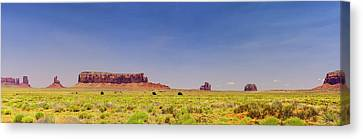 Monument Valley South View Canvas Print