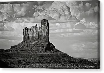 Monument Valley - Stagecoach Butte  Canvas Print