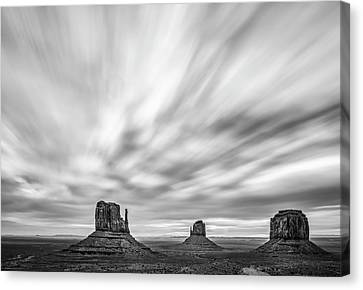 Natural Canvas Print - Monumental Clouds by Jon Glaser