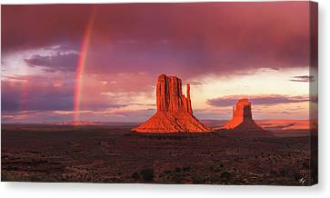 Canvas Print - Monuments Bow by Peter Coskun