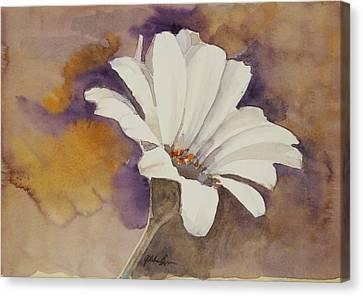 Mood Flower Canvas Print by Gretchen Bjornson