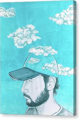 Mood Wearables Canvas Print by Lazaro Hurtado
