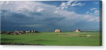 Moody-buttes Canvas Print