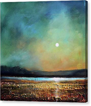 Moody Light Canvas Print by Toni Grote