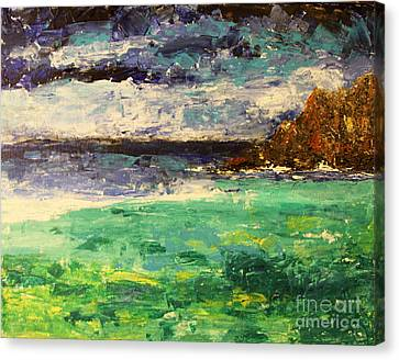 Canvas Print - Moody Waters by Tina Sheppard