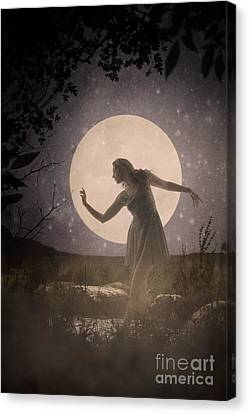 Moon Dance 001 Canvas Print
