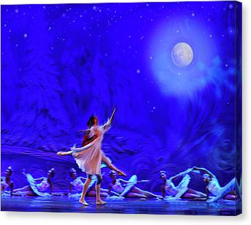 Canvas Print - Moon Dance by Ron Morecraft