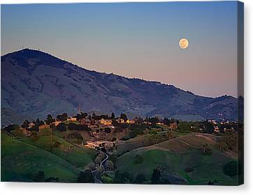 Moon Over Diablo Canvas Print