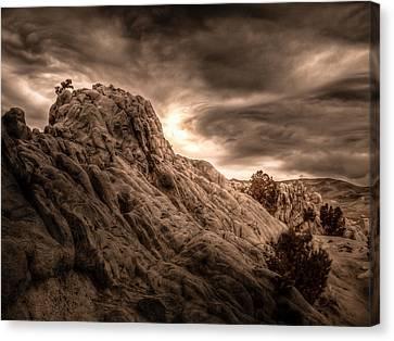 Moon Rocks Canvas Print by Scott McGuire