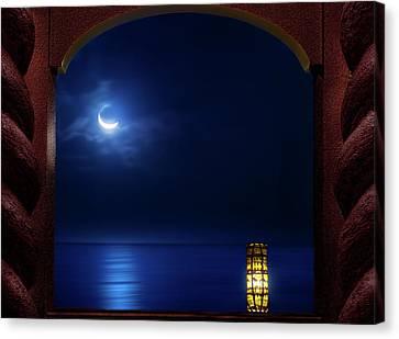 Moon Terrace Canvas Print