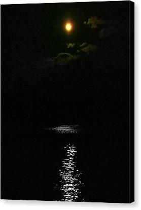 Moon Way Canvas Print by Aron Chervin