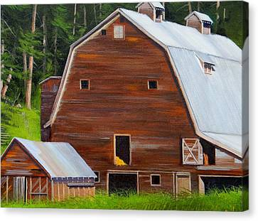 Mooney's Barn Canvas Print