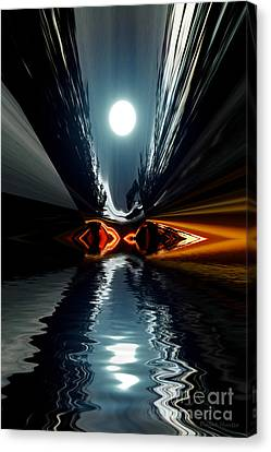 Moonlake Canvas Print