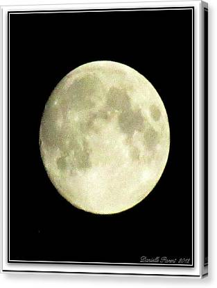 Moonlight  2nd Attempt  Canvas Print