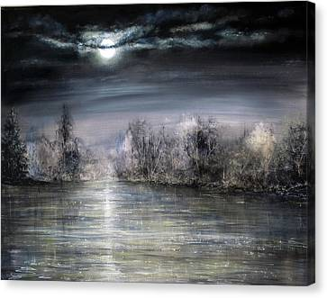 Moonlight Canvas Print by Ann Marie Bone