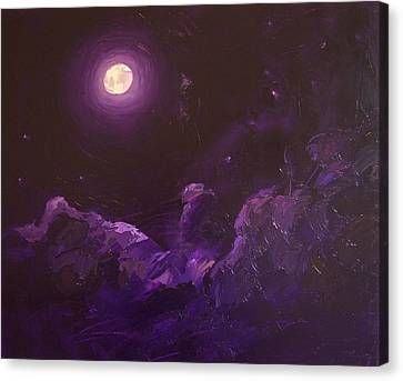 Moonlight Desire  Canvas Print
