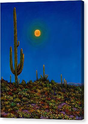 Prescott Canvas Print - Moonlight Serenade by Johnathan Harris