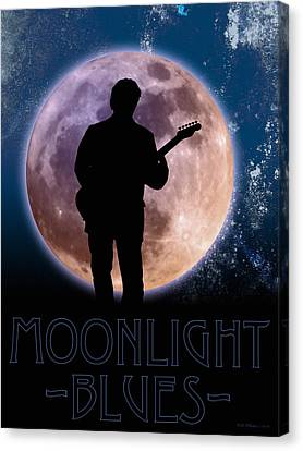 Moonlight Serenade Canvas Print by WB Johnston
