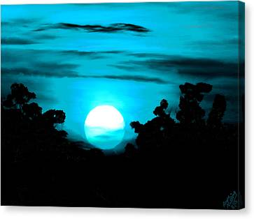 Moonlight Sonata  Canvas Print