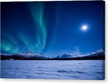 Moonlight Sonata Canvas Print by Tor-Ivar Naess