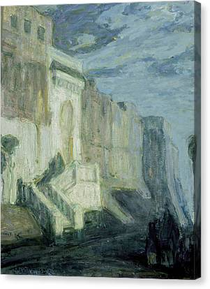 Moonlight - Walls Of Tangiers Canvas Print