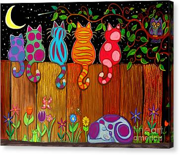 Canvas Print - Moonlighting Together by Nick Gustafson