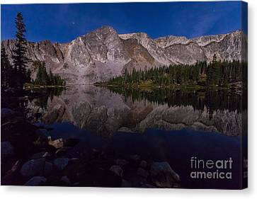 Moonlit Reflections  Canvas Print