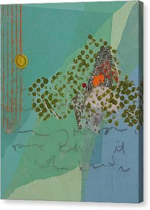 Moonlit Gobbler Canvas Print by Catherine Hollander