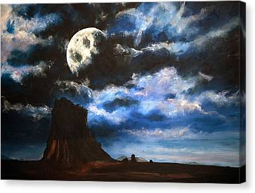 Moonrise IIi Canvas Print by Amy Williams