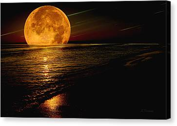 Moonrise Canvas Print by James C Thomas