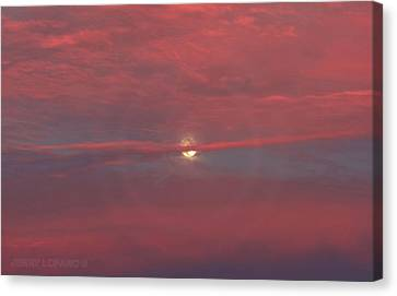 Moonrise Canvas Print by Jerry LoFaro