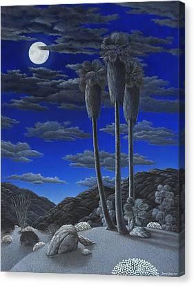 Moonrise Canvas Print by Snake Jagger