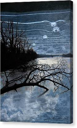 Moons Canvas Print