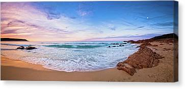 Canvas Print featuring the photograph Bunker Bay Sunset, Margaret River by Dave Catley