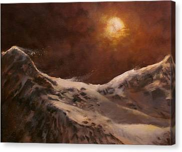 Moonscape Canvas Print by Tom Shropshire