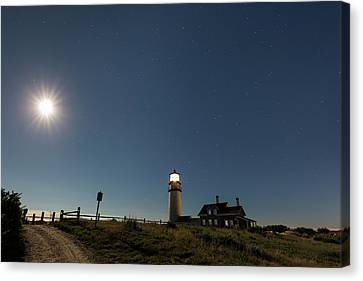 Moonshine Canvas Print by Bill Wakeley