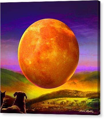 Moonshine Forever Canvas Print by Robin Moline