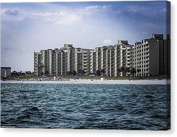 Moonspinner Condos Canvas Print