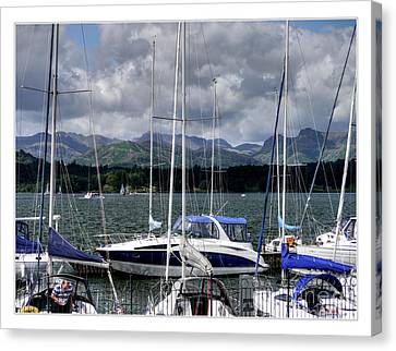 Moored In Beauty Canvas Print