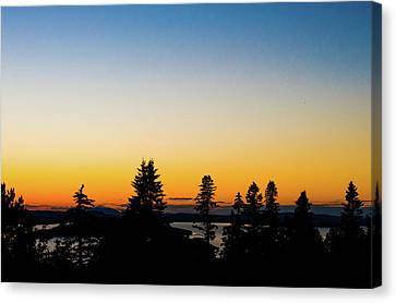 Moosehead Skyline Canvas Print by Saint Cloud