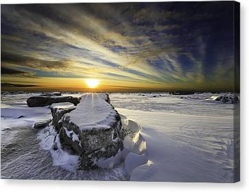 Mooses Tooth Canvas Print