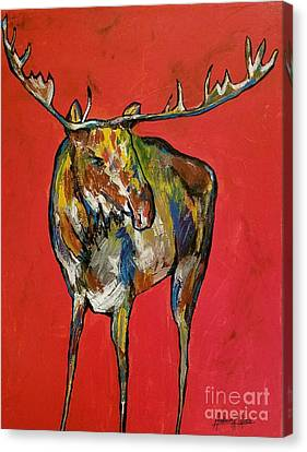 Moozie Canvas Print by Anderson R Moore