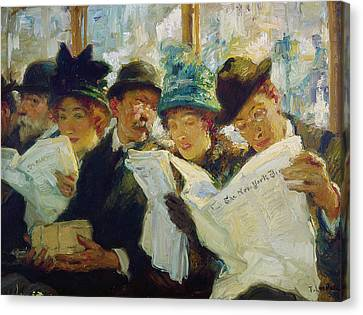 Mora Morning News C1912 Canvas Print by Granger