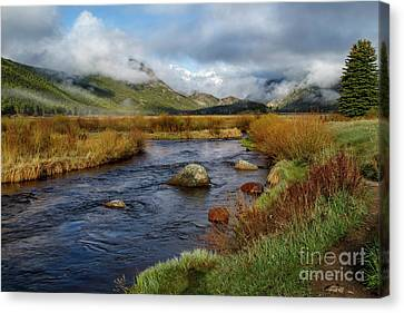 Moraine Park Morning - Rocky Mountain National Park, Colorado Canvas Print