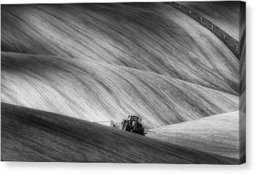 Moravian Seeding Canvas Print by Piotr Krol (bax)