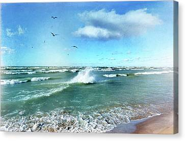 More Beautiful Than Yesterday Canvas Print