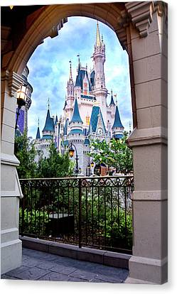 Canvas Print featuring the photograph More Magic by Greg Fortier