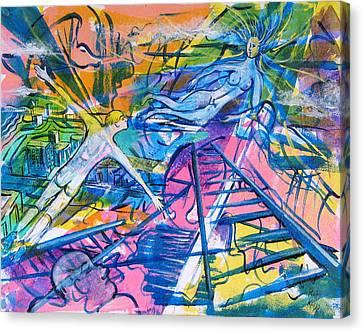 More Than A Dream Canvas Print by Rollin Kocsis
